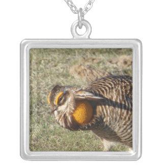 Greater Prairie Chicken Necklace