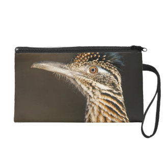 Greater Roadrunner in Texas Wristlet Clutches