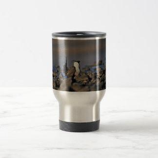 Greater sage grouse travel mug