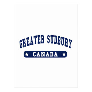 Greater Sudbury Postcard
