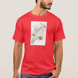Greater Sulphur-Crested Cockatoo by Edward Lear T-Shirt