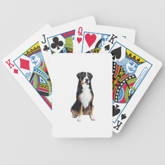 Greater Swiss Mountain Dog (A) Bicycle Playing Cards