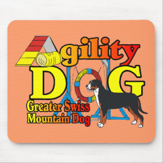 Greater Swiss Mountain Dog Agility Mouse Pad