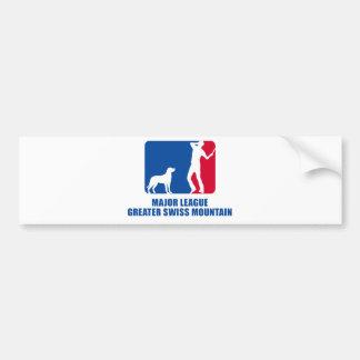 Greater Swiss Mountain Dog Bumper Sticker