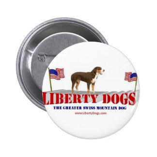 Greater Swiss Mountain Dog Button