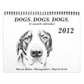 Greater Swiss Mountain Dog Calendar