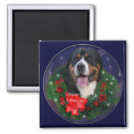 Greater Swiss Mountain Dog Christmas Gifts Refrigerator Magnet