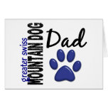 Greater Swiss Mountain Dog Dad 2 Card