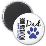 Greater Swiss Mountain Dog Dad 2 Fridge Magnet