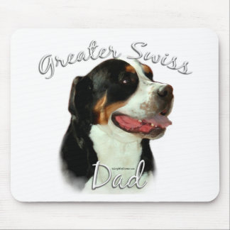 Greater Swiss Mountain Dog Dad 2 Mouse Pad
