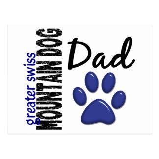 Greater Swiss Mountain Dog Dad 2 Postcard