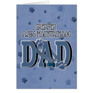 Greater Swiss Mountain Dog DAD Card