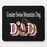 Greater Swiss Mountain Dog Dad Gifts Mouse Pad