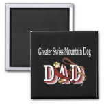 greater swiss mountain dog dad Magnet