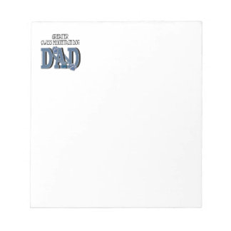 Greater Swiss Mountain Dog DAD Notepad