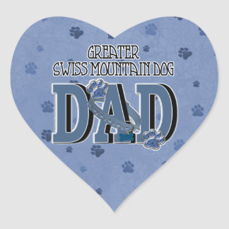 Greater Swiss Mountain Dog DAD Stickers