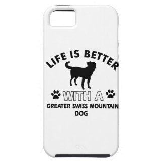 Greater Swiss Mountain Dog designs iPhone 5 Covers