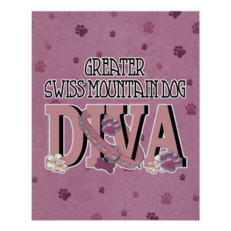 Greater Swiss Mountain Dog DIVA Print
