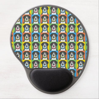 Greater Swiss Mountain Dog Dog Cartoon Pop-Art Gel Mouse Pad