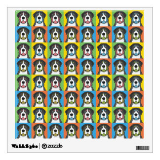 Greater Swiss Mountain Dog Dog Cartoon Pop-Art Wall Sticker