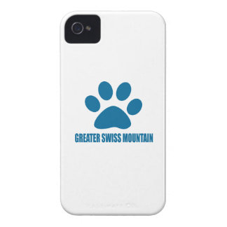 GREATER SWISS MOUNTAIN DOG DOG DESIGNS iPhone 4 Case-Mate CASE