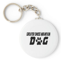 GREATER SWISS MOUNTAIN DOG DOG DESIGNS KEYCHAIN