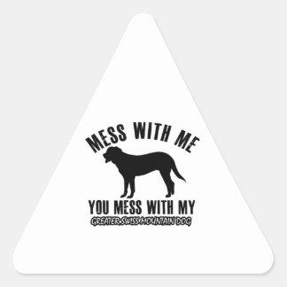 GREATER SWISS MOUNTAIN DOG dog designs Sticker