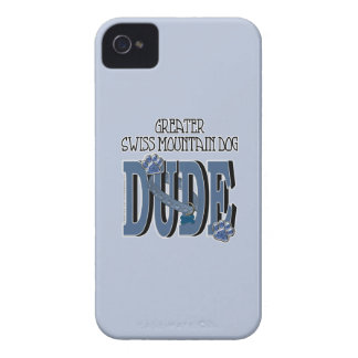 Greater Swiss Mountain Dog DUDE iPhone 4 Case-Mate Case