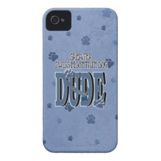 Greater Swiss Mountain Dog DUDE iPhone 4 Cover