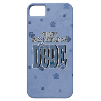 Greater Swiss Mountain Dog DUDE iPhone SE/5/5s Case