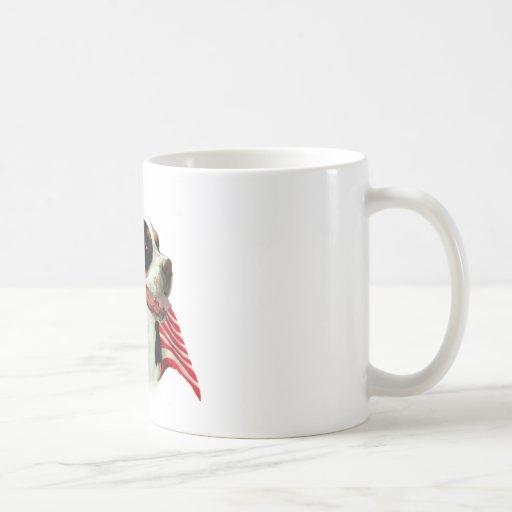 Greater Swiss Mountain Dog Flag Classic White Coffee Mug