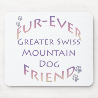Greater Swiss Mountain Dog Furever Mouse Pad