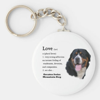 Greater Swiss Mountain Dog Gifts Key Chains