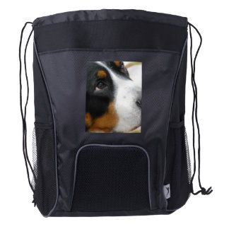Greater Swiss Mountain Dog Drawstring Backpack