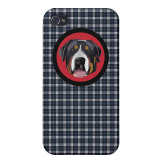 GREATER SWISS MOUNTAIN DOG iPhone 4/4S CASE