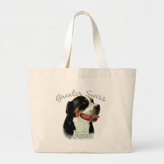 Greater Swiss Mountain Dog Mom 2 Tote Bag