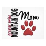 Greater Swiss Mountain Dog Mom 2 Flyer Design