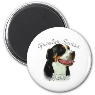 Greater Swiss Mountain Dog Mom 2 Refrigerator Magnets