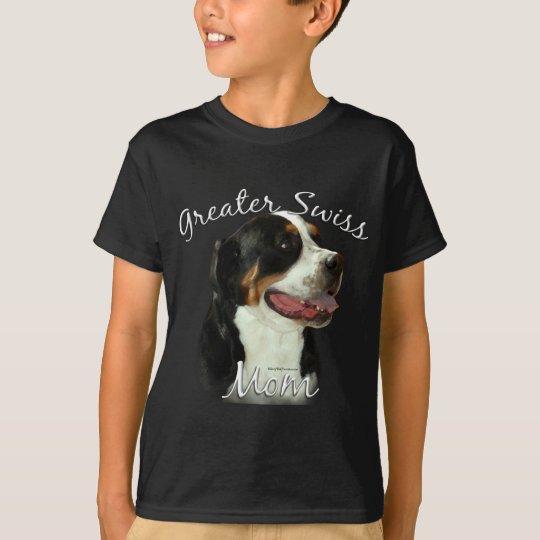 Greater Swiss Mountain Dog Mom 2 T-Shirt