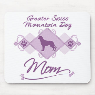 Greater Swiss Mountain Dog Mom Mouse Pad