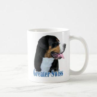 Greater Swiss Mountain Dog Name Coffee Mug