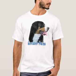 Greater Swiss Mountain Dog Name T-Shirt
