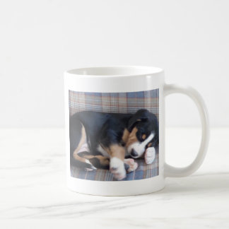 greater swiss mountain dog puppy coffee mug