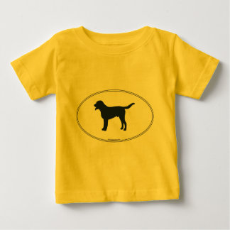 Greater Swiss Mountain Dog Silhouette Baby T-Shirt