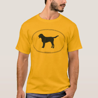 Greater Swiss Mountain Dog Silhouette T-Shirt