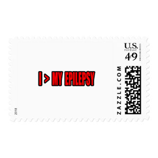 Greater Than My Epilepsy Stamp