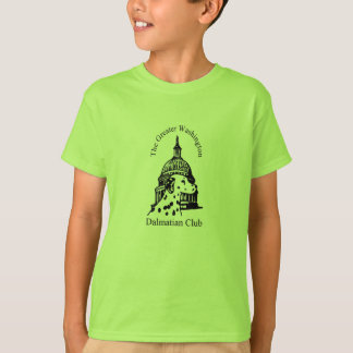 Greater Washington Dalmatian Club Logo T-Shirt