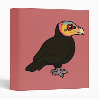 Greater Yellow-headed Vulture 3 Ring Binders