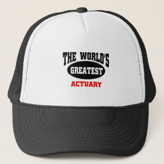 Greatest Actuary Trucker Hat
