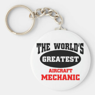 Greatest Aircraft Mechanic Key Chains